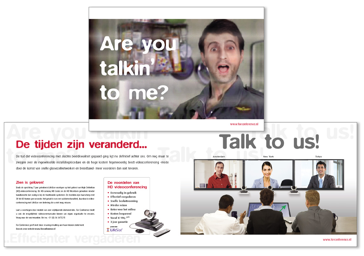 For Conference_Direct Mailing_ BAS! RECLAME & VORMGEVING