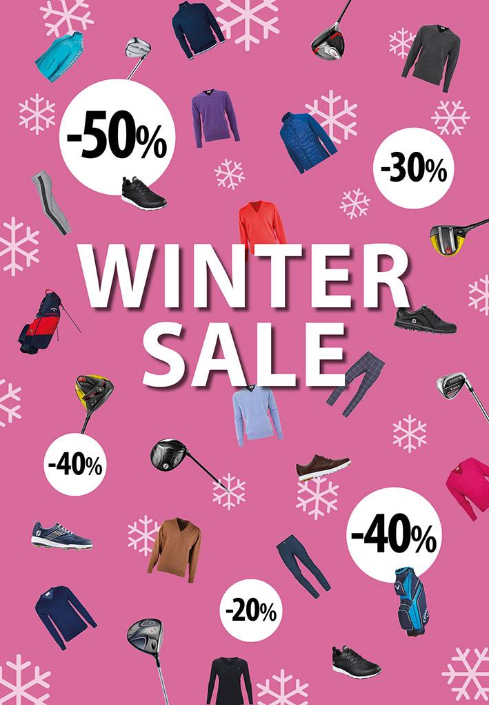 Golfers_Point_wintersale_poster_BAS! RECLAME & VORMGEVING