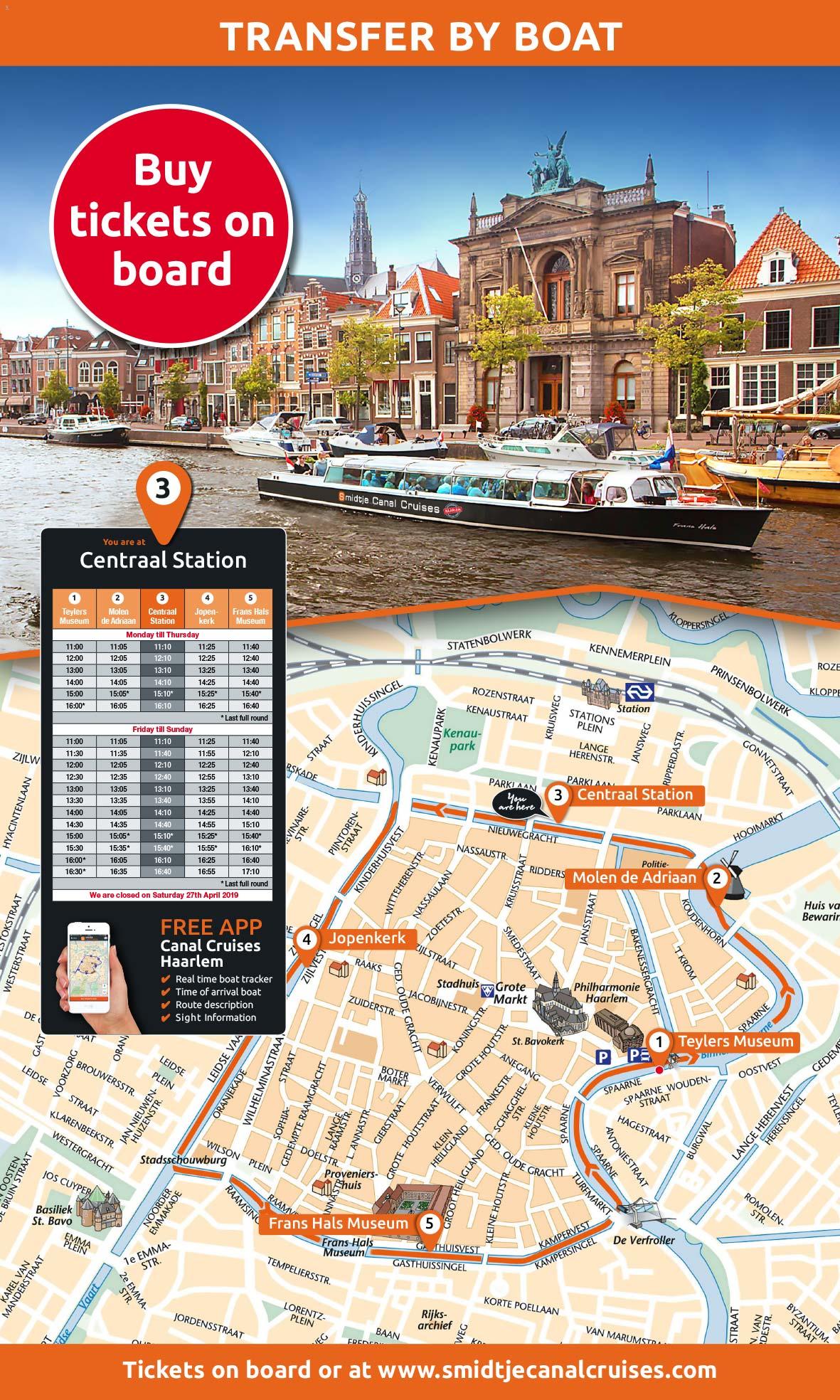 Smidtje Canal Cruises Haarlem_BAS! RECLAME & VORMGEVING