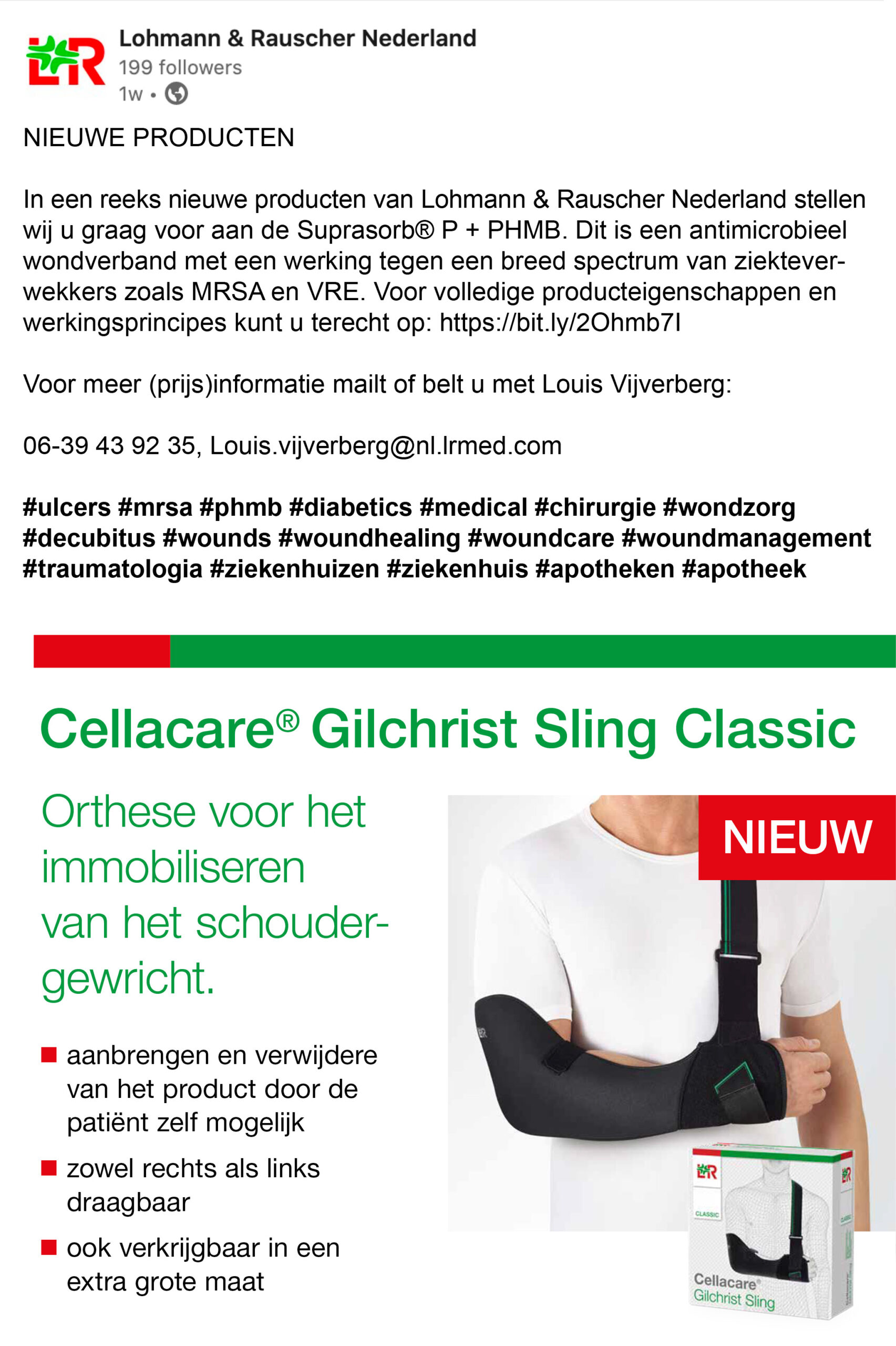 Lohmann & RauscherCellacare Sling_BAS! RECLAME & VORMGEVING