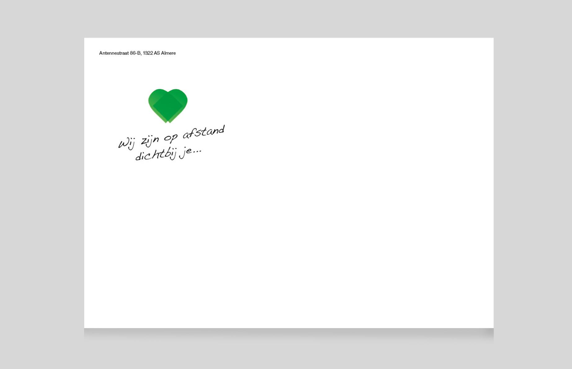 Lohmann & Rauscher ansichtkaartmailing_envelope_BAS! RECLAME & VORMGEVING